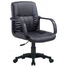 Кресло РК-300 с подлокотниками, экокожа