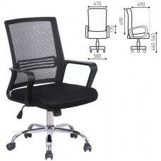 Кресло РК-317 с подлокотниками, хром