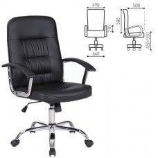 Кресло РК-550 хром, экокожа