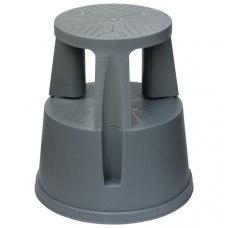 Пластиковая лестница-тумба высота 430 мм на 2 ступени (Нагрузка 150 кг)
