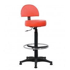 Кресло медицинское лабораторное Соло хай ринг бэйс (Материал и цвет обивки на выбор)