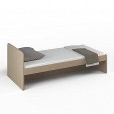 Кровать детская без ящиков 1652x756x602 мм (ДхГхВ) (Ясень Шимо светлый)