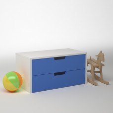 Модуль с 2 ящиками 900х450х450 мм (ДхГхВ) (Цвет на выбор)