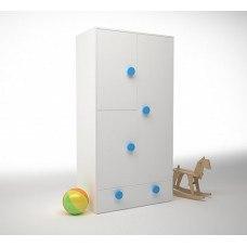 Шкаф створчатый 932х504х1816 мм (ДхГхВ) (Цвет на выбор)