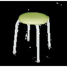 Табурет Пенек крепкий круглый кожзам (Цвет на выбор)