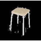 Табурет Пенек легкий квадратный кожзам (Цвет на выбор)