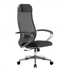 Кресло №15 хром каркас и подлокотник