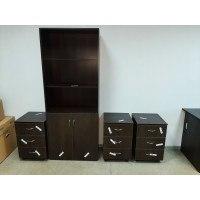 Поставка и сборка шкафа для документов и тумб