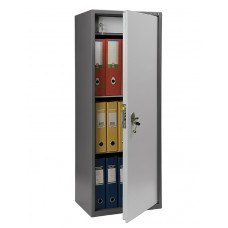 Бухгалтерский шкаф ПРАКТИК SL-125Т механический замок 460x340х1252 мм (ДхГхВ)