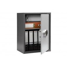 Бухгалтерский шкаф ПРАКТИК SL-65Т EL кодовый замок 460x340х630 мм (ДхГхВ)