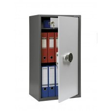 Бухгалтерский шкаф ПРАКТИК SL-87Т EL кодовый замок 460x340х870 мм (ДхГхВ)