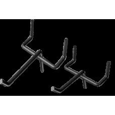 Крючки металлические для перфорированного экрана (10 штук в комплекте)