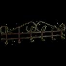 Вешалка настенная Ажур 6 (Цвет на выбор)