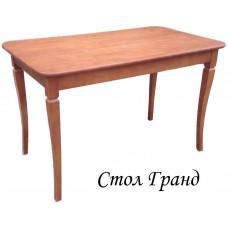 Стол из березы Гранд прямоугольный (Нераздвижной) 1200х800х750 мм (ДхГхВ) (Цвет на выбор)