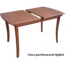 Стол из массива березы Орфей (Раздвижной) 1590(1240)х800Х750 мм (ДхГхВ) (Цвет на выбор)