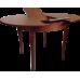 Стол из массива березы Гранд круглый (Нераздвижной) 930х750 мм (ДхВ) (Цвет на выбор)
