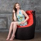 Кресло-мешок Трон с подголовником (Полиестр) вес до 200 кг