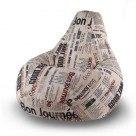 Кресло-груша детская Скотчгард (Цвет на выбор)