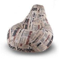 Кресло мешок детский хлопковая ткань
