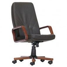 Кресло Менеджер экстра / Manager extra (Материал и цвет обивки на выбор) цвет дерева на выбор