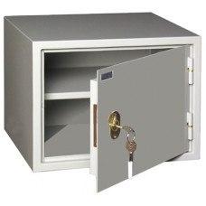 Бухгалтерский шкаф КБ-02/ КБС-02 механический замок 420x350х320 мм (ДхГхВ)