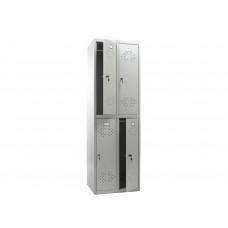Шкаф для одежды ПРАКТИК LS-22 575x500х1830 (ДхГхВ)