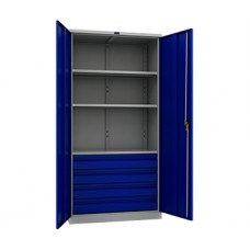 Шкаф инструментальный TC-1995-003040 950x500х1900 мм (ДхГхВ)