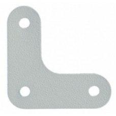 Металлический уголок для полок стеллажа