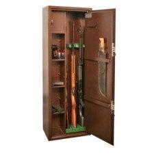 Сейф оружейный КО-032Т на 3 ружья мех. замок 430x280х1250 (ДхГхВ)