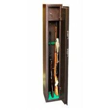 Сейф оружейный КО - 036Т на 3 ружья мех. замок 250x280х1500 (ДхГхВ)