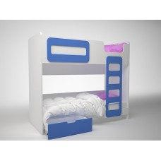 Кровать детская двухэтажная 1924x860х1652 мм (ДхГхВ) (Цвет на выбор)