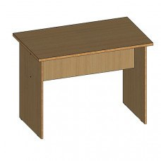 Стол приставной (царга посередине) ПС 10.6 1000х600 (ДхГ)