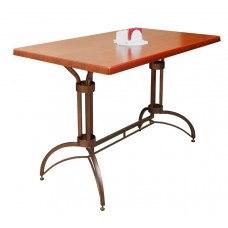 Стол №33Г со столешницей ЛДСП (Регулируемые ножки) (Размер и цвет столешницы на выбор)