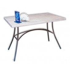 Стол №33А со столешницей ЛДСП (Размер и цвет столешницы на выбор) (Цвет каркаса на выбор)