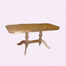 Стол из массива березы Обеденный (Нераздвижной) 1200х800х750 мм (ДхГхВ) (Цвет на выбор)