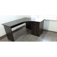 Поставка и сборка офисного стола с тумбой СТП 15.13.6