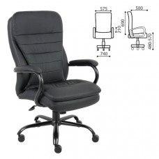 Кресло офисное РК-3 экокожа (нагрузка до 200кг)